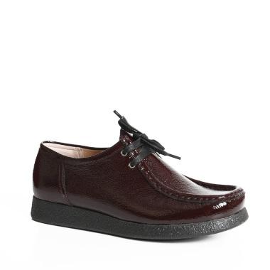 Ženska cipela Sebago bordo lak