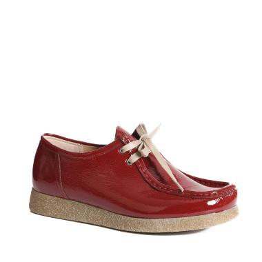 Ženska cipela Sebago crveni lak